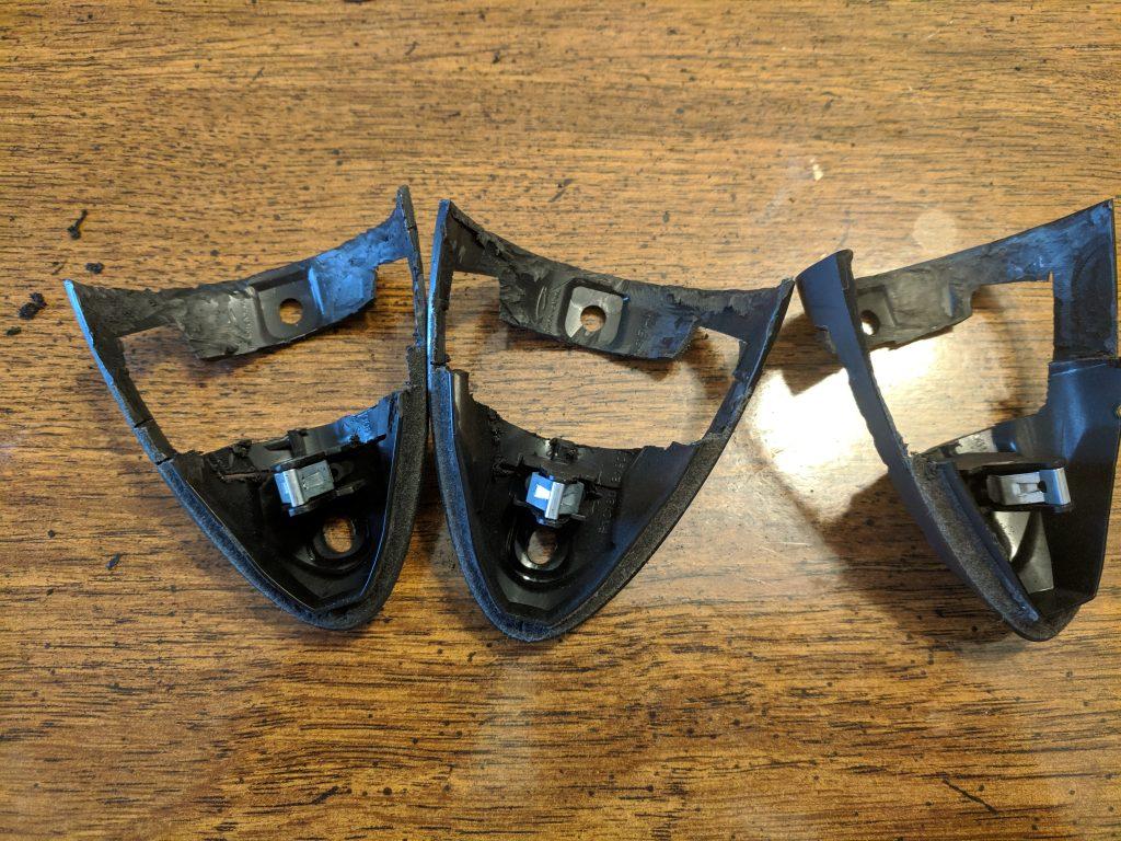 Modified gauge hat brackets