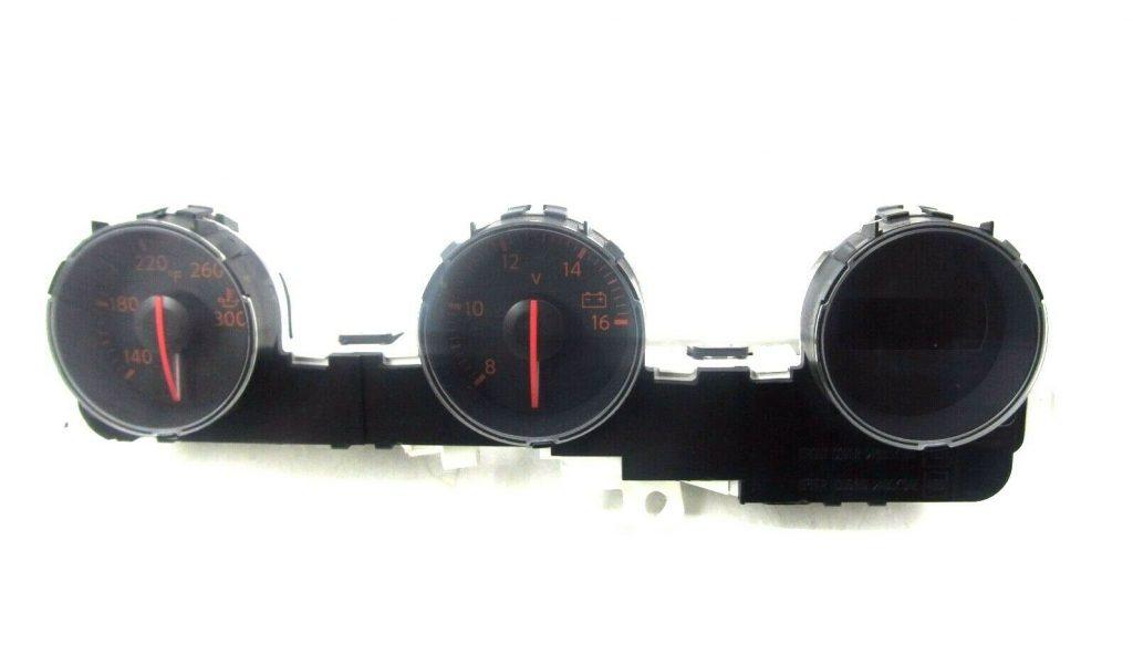Center gauges front